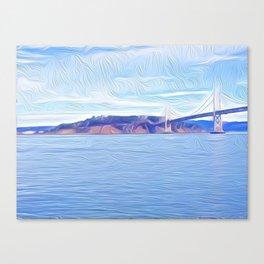 Yerba Buena at the Bridge Canvas Print