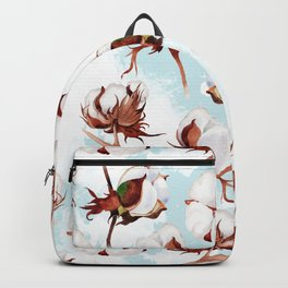 Cotton Pattern Backpack