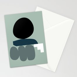 Shape study #19 - Stackable Collection Stationery Cards