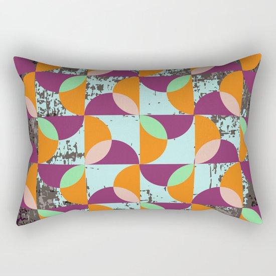 Geometric#15 Rectangular Pillow