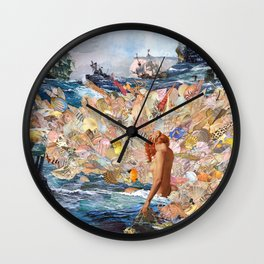 Song Of Lorelei Wall Clock