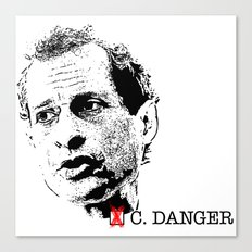 Vote Carlos Danger Canvas Print