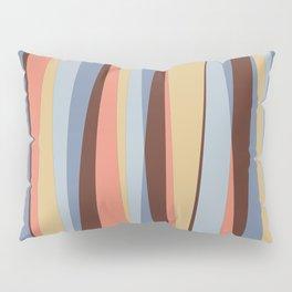 Midcentury Stripes Retro Colors Pillow Sham
