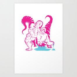 Hoooouuush ! Art Print