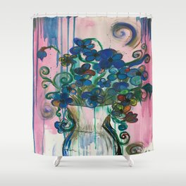 Fluer Shower Curtain