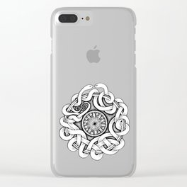 Snakes Clear iPhone Case