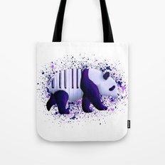 Piano Panda Tote Bag