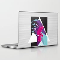 rooster Laptop & iPad Skins featuring Rooster by Sudário