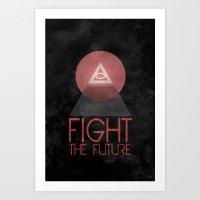 illuminati Art Prints featuring Illuminati by Ed Burczyk