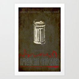 American gangster Art Print
