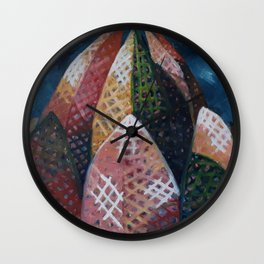 Lotus Temple by Lu Wall Clock