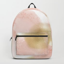 Rose Gold and Gold Blush Backpack