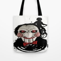 Billy The Puppet: Monster Madness Series Tote Bag