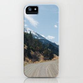 Pray, Montana iPhone Case