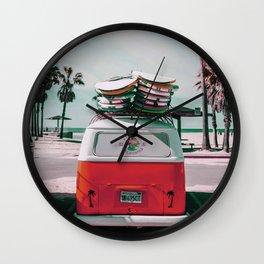 Welcome Back Summer Wall Clock