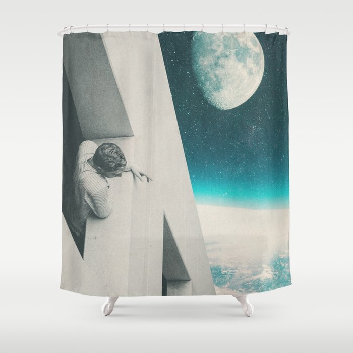 Needed to Breathe Shower Curtain