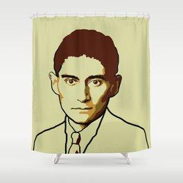 Franz Kafka Shower Curtain