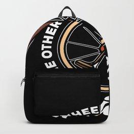 Unicycle Wheel Backpack