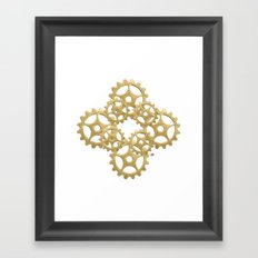Get Geared! Framed Art Print