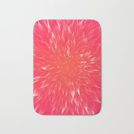 Mandala Flower || Rose Bath Mat