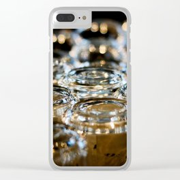 Glassware, there Clear iPhone Case