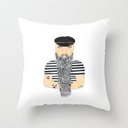 Sailor. Throw Pillow