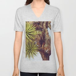 Joshua Tree Up Close Unisex V-Neck