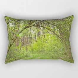 Forest Arch Trail Rectangular Pillow