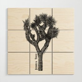 Joshua Tree Burns Canyon by CREYES Wood Wall Art