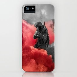 Urban combat iPhone Case