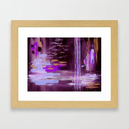 Inflection Framed Art Print