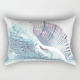 Seashells Sketch Rectangular Pillow