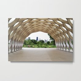 Lincoln Park Zoo Overlook Metal Print