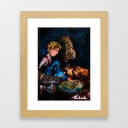 TEZ Framed Art Print