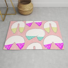 It's A Fortune Cookie Cup Cake Kind of Love Rug