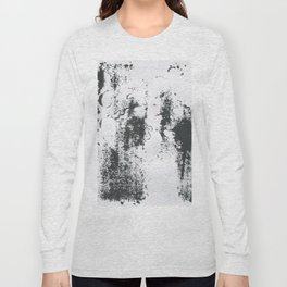 Black/white Long Sleeve T-shirt