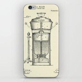 Caffee Urn-1890 iPhone Skin