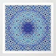 Mandala Azuela Art Print