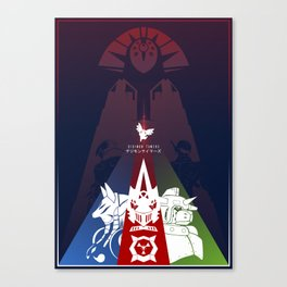 Matrix Dreamers | Digimon Tamers Canvas Print