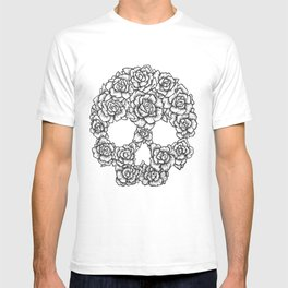 Skull of Roses T-shirt