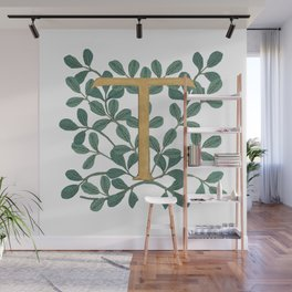 Forest Letter T Lite 2020 Wall Mural