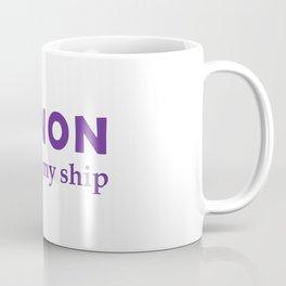 Canon Not on my ship Coffee Mug