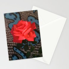 Comic Rose Stationery Cards