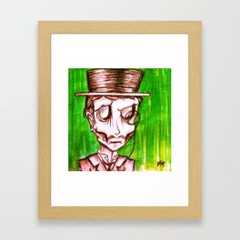Monocle, Ghoul #2. Framed Art Print