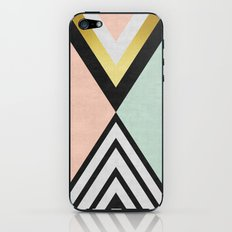 Minimalist fashion and golden I iPhone & iPod Skin