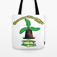 warcraft Tote Bags featuring Banana Energy Co. by SmallWheel