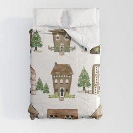 Gingerbread Lane Comforters