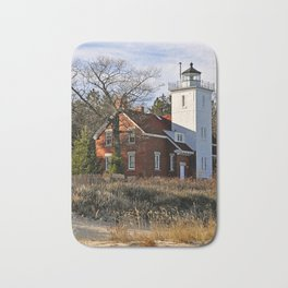40 Mile Point Lighthouse Bath Mat