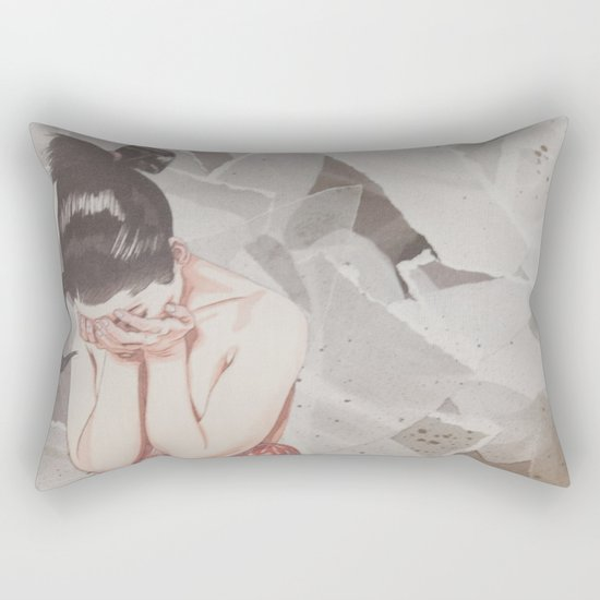 Composition IV: It's okay not to be okay Rectangular Pillow