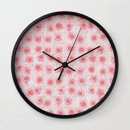Barnacular No. 3 Rose Wall Clock